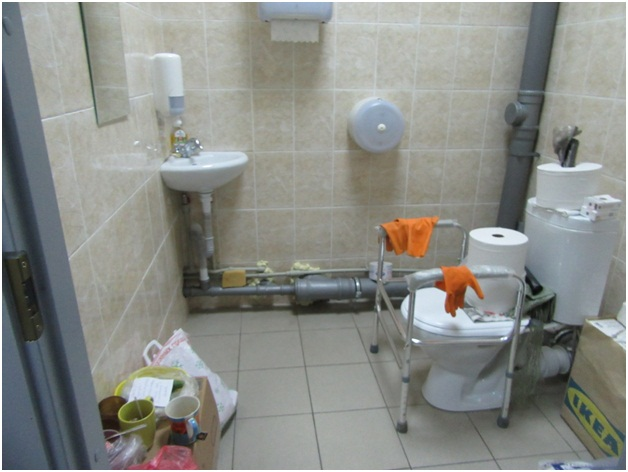 автовокзал «Щербинки» должен отвечать требованиям доступности. Но это далеко не так