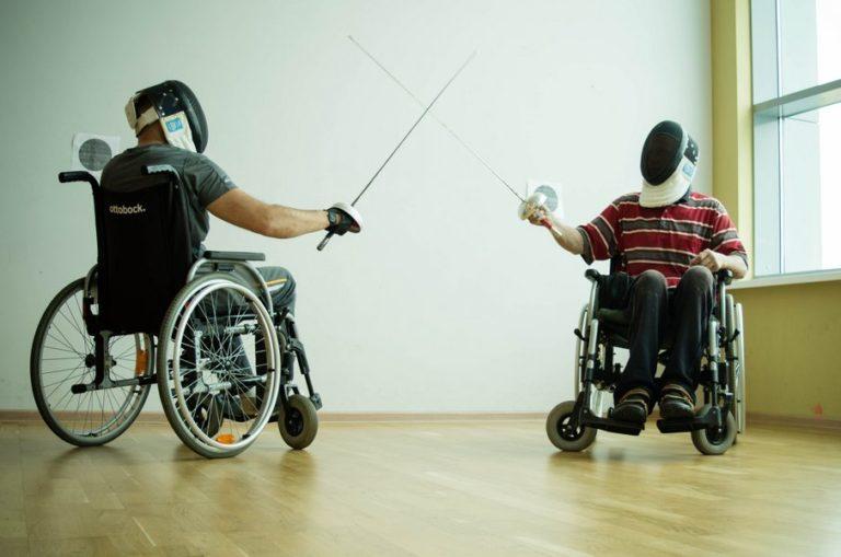19 августа в Нижнем Новгороде прошла пробная тренировка по паралимпийской дисциплине – фехтованию на колясках