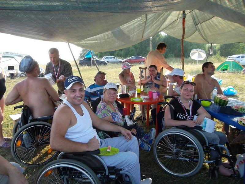 С пятницы по воскресенье Организация Пароплан проводила Тур Слет на берегу реки Оки