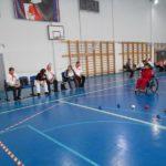 Соревнования «Веселые мячи» среди спортсменов с инвалидностью Городецкого и Борского районов