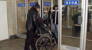 Кто ставит барьеры на пути инвалидов