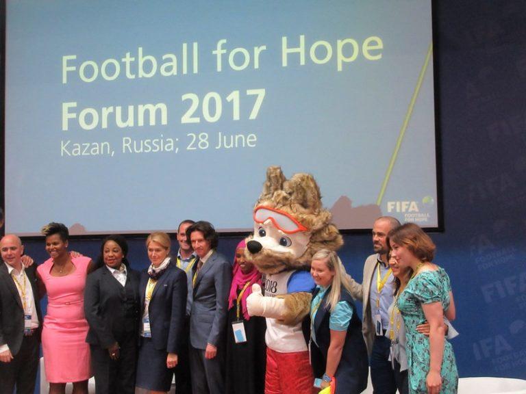 «Футбол во имя надежды» в Казани