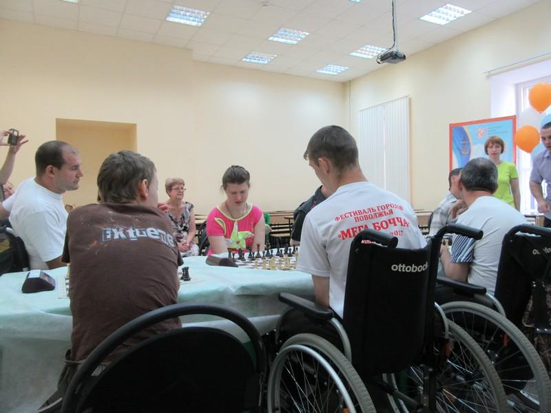 турнир «Шахматы без границ» среди спортсменов с инвалидностью  в рамках 37-го Всероссийского шахматного фестиваля «Кубок надежды»