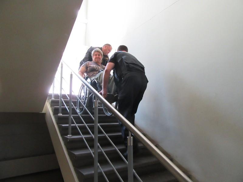 Автовокзалу в Щербинках поставили «пару» за недоступность