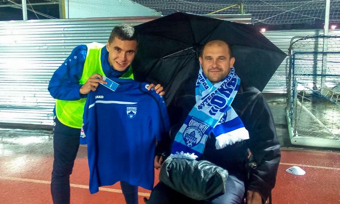 Футбольный клуб «Олимпиец» дружит с нижегородской общественной организацией «Инватур»