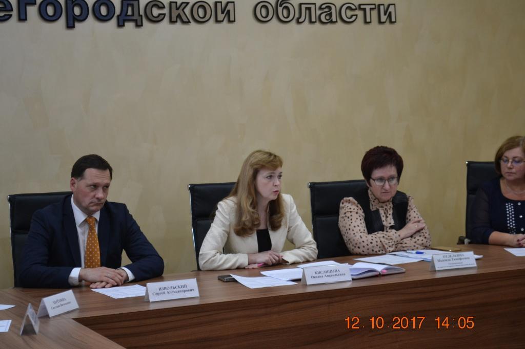 заседание Рабочей группы избирательной комиссии Нижегородской области по взаимодействию с региональными общественными организациями инвалидов
