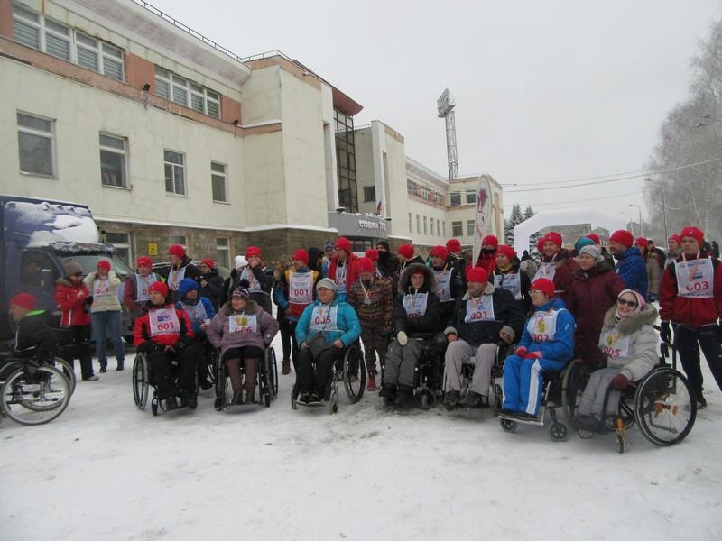 Международный день инвалидов на бегу