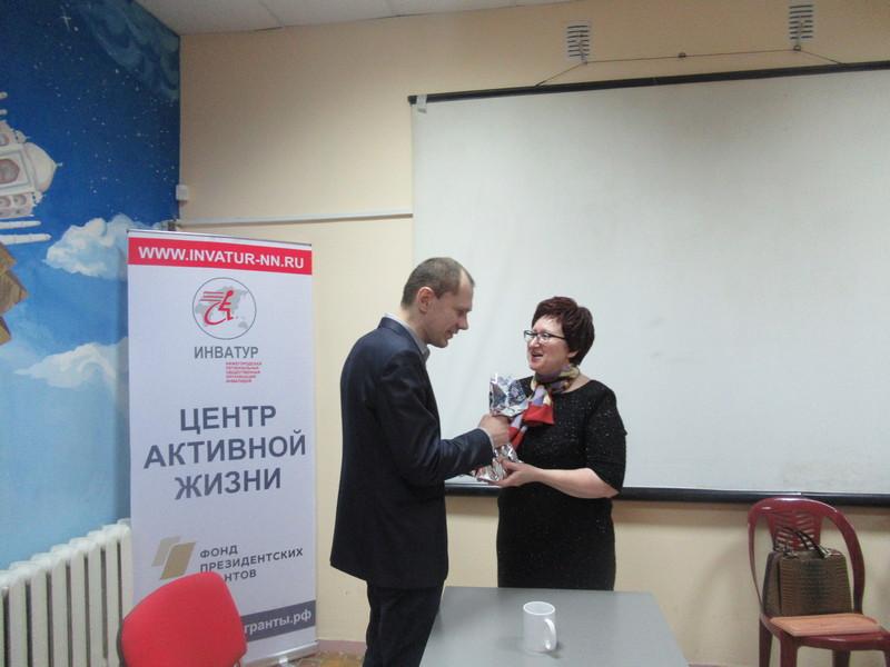 Встреча с Уполномоченным по правам человека в Нижегородской области