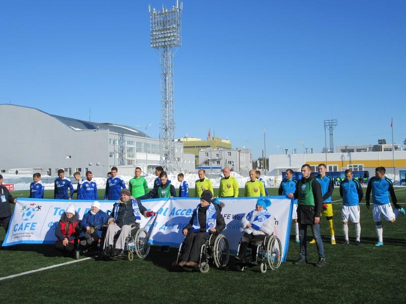 Олимпиец-Сибирь. Футбол для всех, доступ для всех
