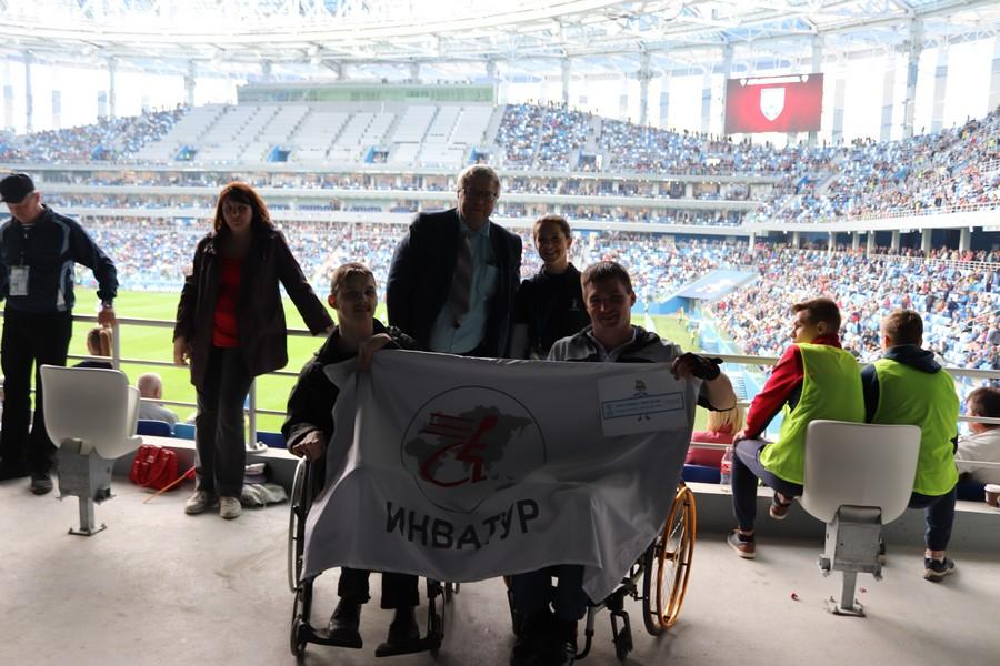 Третий тестовый матч на стадионе «Нижний Новгород»