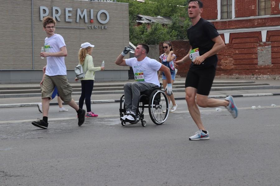 На «Зеленом марафоне»