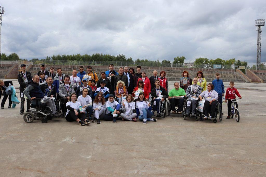 В Нижнем Новгороде 10 августа 2019 г. состоялись соревнования по лёгкой атлетике среди спортсменов с инвалидностью