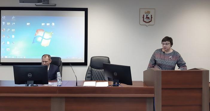 Заседание Общественной комиссии при БМСЭ